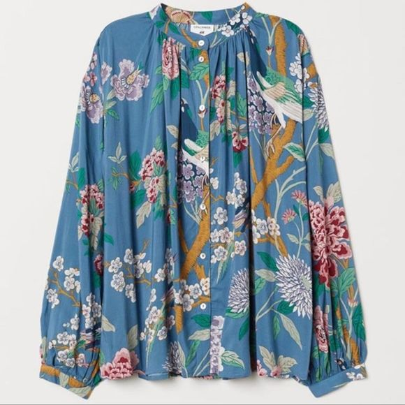 🆕H&M GP&J Baker for H&M Floral Top 2